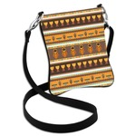African Masks Cross Body Bag - 2 Sizes