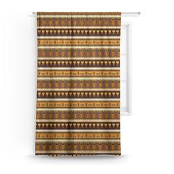 African Masks Curtain