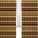African Masks Curtains (2 Panels Per Set)