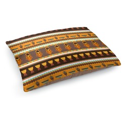 African Masks Dog Bed - Medium