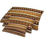 African Masks Dog Bed