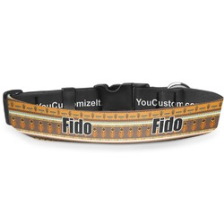 African Masks Deluxe Dog Collar