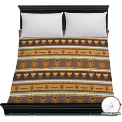 African Masks Duvet Cover