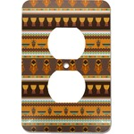 African Masks Electric Outlet Plate