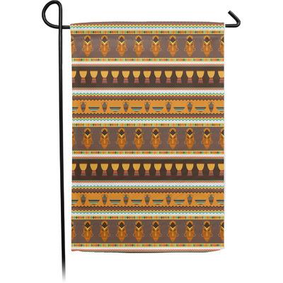 African Masks Garden Flag With Pole