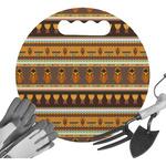 African Masks Gardening Knee Cushion