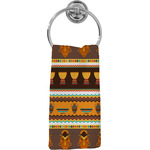 African Masks Hand Towel - Full Print