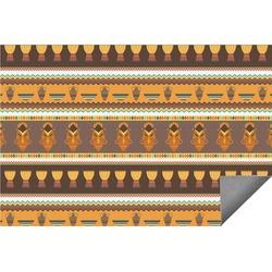 African Masks Indoor / Outdoor Rug