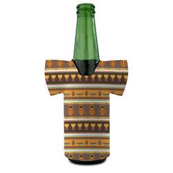 African Masks Bottle Cooler