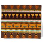 African Masks Kitchen Towel - Full Print
