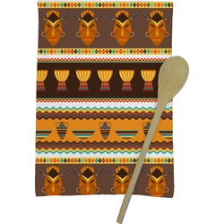 African Masks Kitchen Towel - Full Print