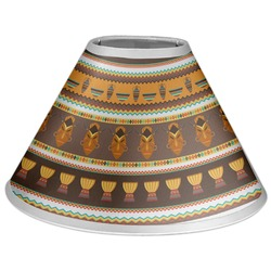 African Masks Coolie Lamp Shade