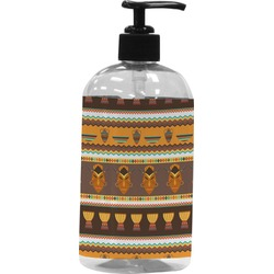 African Masks Plastic Soap / Lotion Dispenser