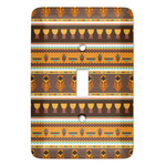 African Masks Light Switch Covers - Multiple Toggle Options Available