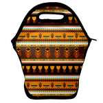 African Masks Lunch Bag