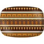 African Masks Melamine Platter