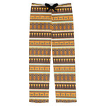 African Masks Mens Pajama Pants