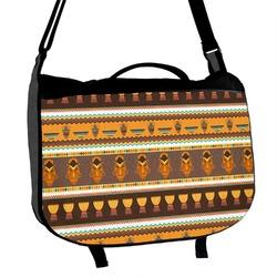 African Masks Messenger Bag