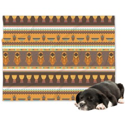 African Masks Minky Dog Blanket
