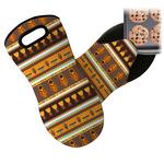 African Masks Neoprene Oven Mitt