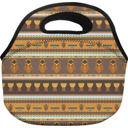 African Masks Lunch Bag