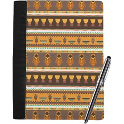 African Masks Notebook Padfolio