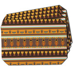 African Masks Dining Table Mat - Octagon