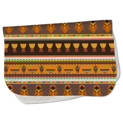 African Masks Burp Cloth - Fleece