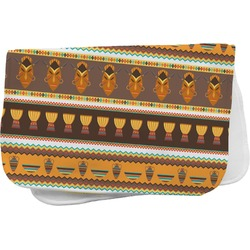 African Masks Burp Cloth