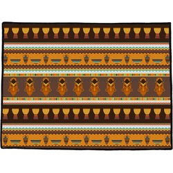 African Masks Door Mat
