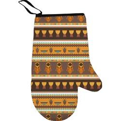African Masks Oven Mitt