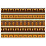African Masks Placemat (Laminated)