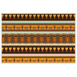 African Masks Laminated Placemat