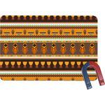 African Masks Rectangular Fridge Magnet