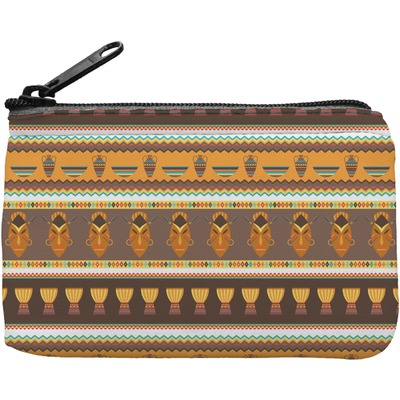 African Masks Rectangular Coin Purse