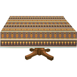 African Masks Tablecloth