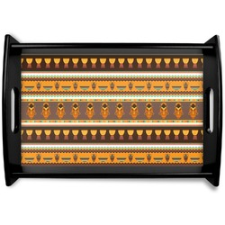 African Masks Wooden Trays