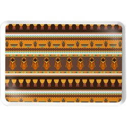 African Masks Serving Tray