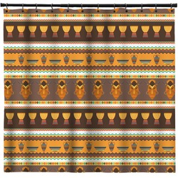 African Masks Shower Curtain