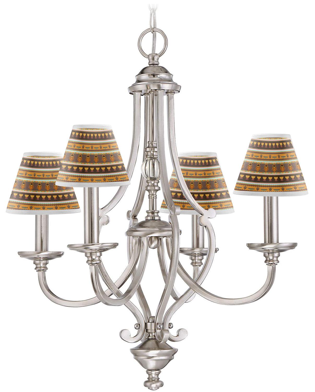 african masks chandelier lamp shade youcustomizeit. Black Bedroom Furniture Sets. Home Design Ideas