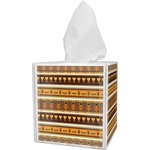 African Masks Tissue Box Cover