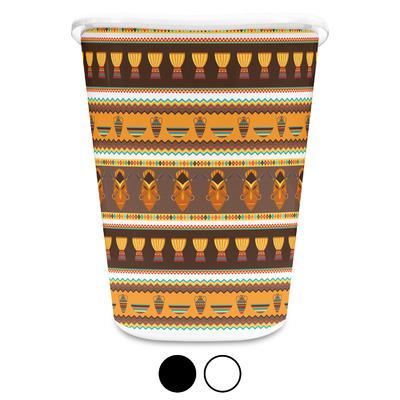African Masks Waste Basket