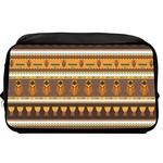 African Masks Toiletry Bag / Dopp Kit