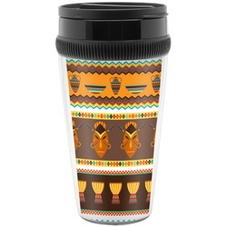 African Masks Travel Mug