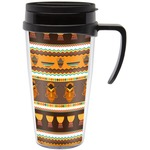 African Masks Travel Mug with Handle