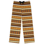 African Masks Womens Pajama Pants