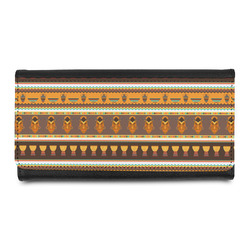 African Masks Leatherette Ladies Wallet