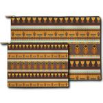African Masks Zipper Pouch