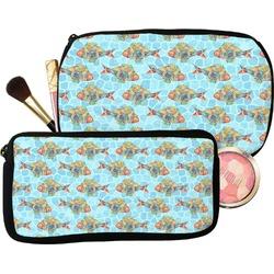 Mosaic Fish Makeup / Cosmetic Bag (Personalized)