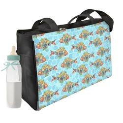 Mosaic Fish Diaper Bag